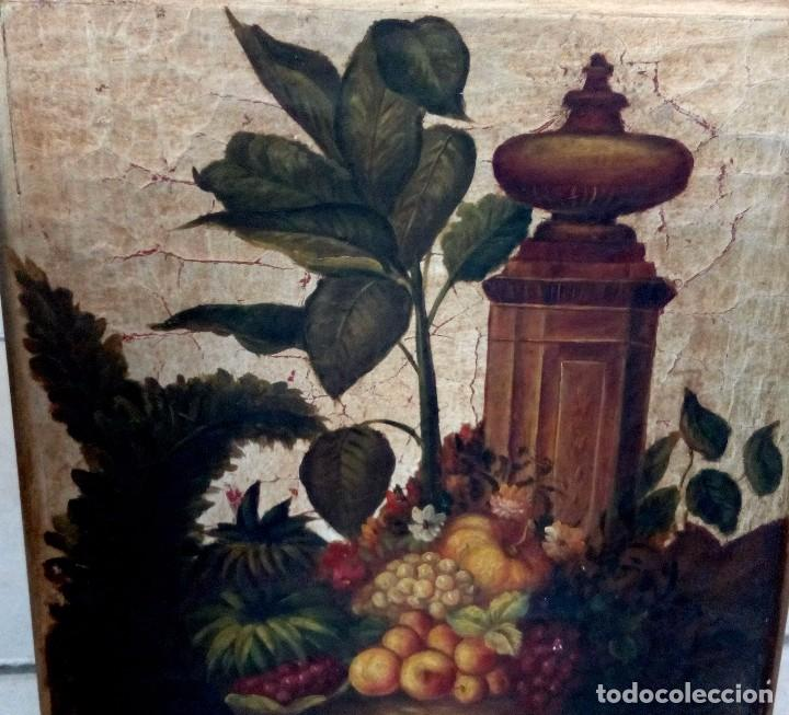 Arte: CUADRO - TABLA ORIGEN ITALIANO POLICROMADA Y PAN DE ORO - 47 X 47 CM. - Foto 3 - 161117221