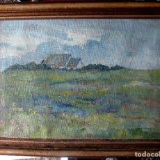 Arte: CARL ROSCKAMP (ESCUELA ALEMANA). OLEO/LIENZO. FIRMADO Y FECHADO EN 1952.. Lote 103833523