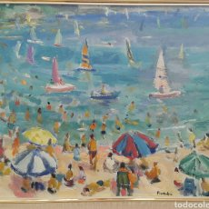 Arte: ANTONIO PINEDA SALMERÓN (MOTRIL 1953). ÓLEO SOBRE LIENZO. Lote 103922472