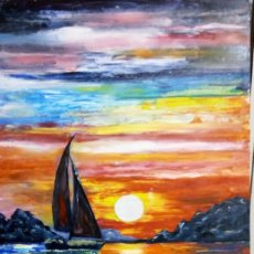 Arte: NAVEGANDO. Lote 103965407
