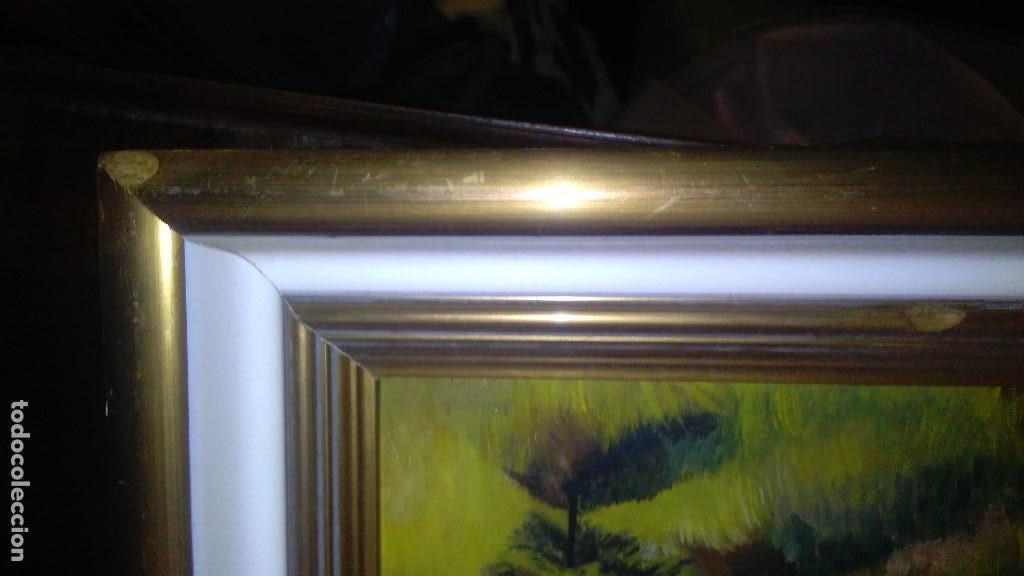 Arte: OLEO ARBOLEDA EN TABLA ENMARCADO MEDIDA: 66 X 51, FIRMADO EN MAYO 61 - Foto 5 - 103968583