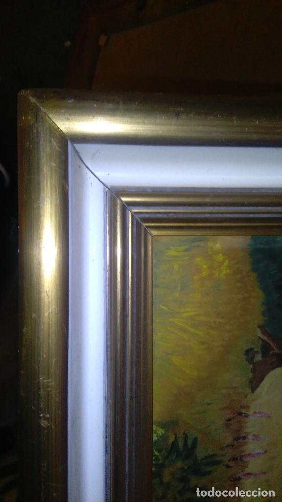 Arte: OLEO ARBOLEDA EN TABLA ENMARCADO MEDIDA: 66 X 51, FIRMADO EN MAYO 61 - Foto 6 - 103968583