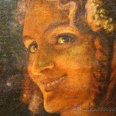 Arte: RETRATO DE JOVEN DAMA. ÓLEO SOBRE TELA. ESCUELA CATALANA. ESPAÑA. CIRCA 1850. Lote 102930571