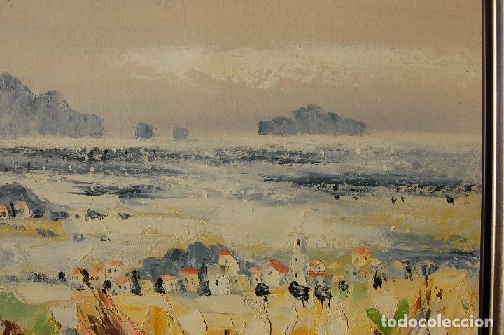 deric. pintura al óleo de 61x61cm.se ha enmarca - Comprar Pintura al ...