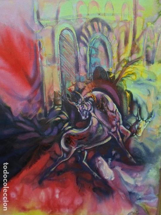 PINTURA DEL ARTISTA EDISON DÍAZ (Arte - Pintura Directa del Autor)