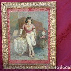 Arte: CUADRO AL OLEO DEL FAMOSO ARTISTA ESPAÑOL FIRMADO ANTONIO FABRES -MEDIDAS 78 X 63 CENTIMETROS. Lote 104100667