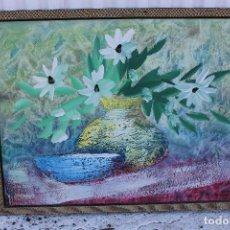 Arte: OLEO FIRMADO ORINGINAL SOBRE TABLE. Lote 104111515