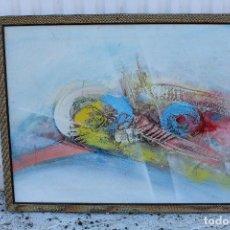 Arte: OLEO ORINGINAL SOBRE TABLE. Lote 104111539