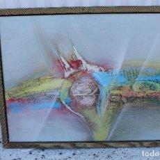 Arte: OLEO ORINGINAL SOBRE TABLE. Lote 104111599