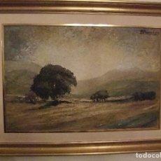 Arte: PAISAJE DE JOSÉ LUIS BENITO REMENTERÍA. Lote 104305175
