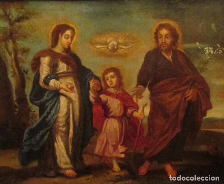ÓLEO SOBRE LIENZO SIGLO XVIII (Arte - Pintura - Pintura al Óleo Antigua siglo XVIII)
