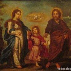 Arte: ÓLEO SOBRE LIENZO SIGLO XVIII. Lote 104309975