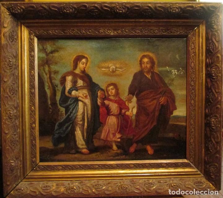 Arte: Óleo sobre lienzo siglo XVIII - Foto 2 - 104309975