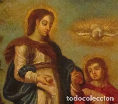 Arte: Óleo sobre lienzo siglo XVIII - Foto 3 - 104309975