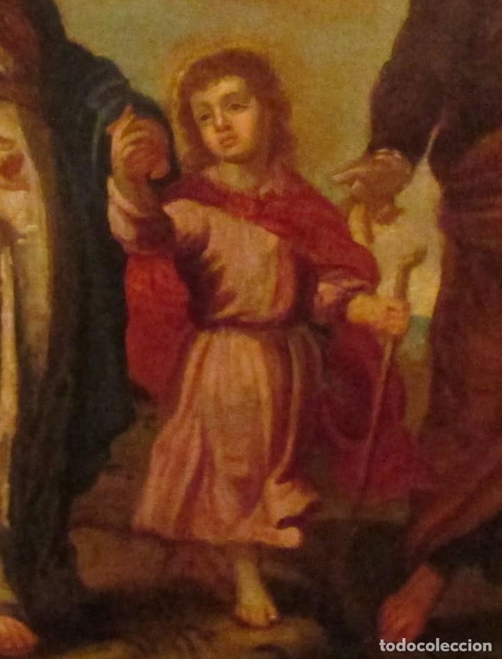 Arte: Óleo sobre lienzo siglo XVIII - Foto 5 - 104309975