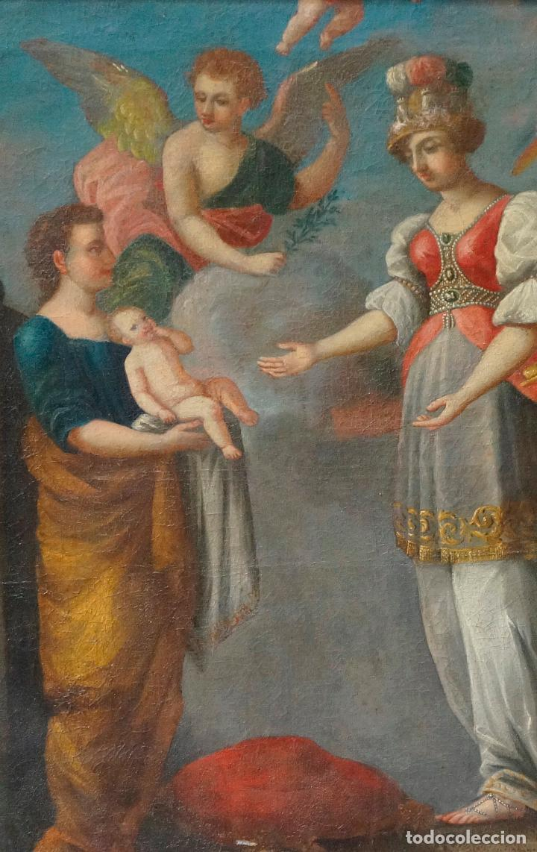 Arte: ramon bayeu (Zaragoza 1746-Aranjuez 1793) fiesta de la primavera, pintura al óleo. 93x84cm - Foto 2 - 104351511