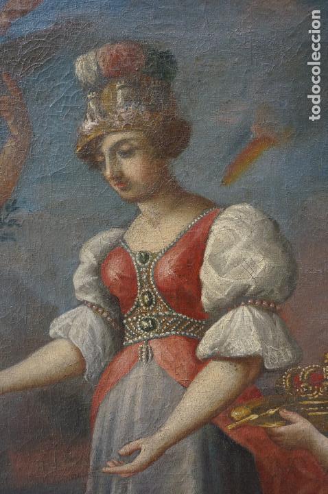 Arte: ramon bayeu (Zaragoza 1746-Aranjuez 1793) fiesta de la primavera, pintura al óleo. 93x84cm - Foto 3 - 104351511