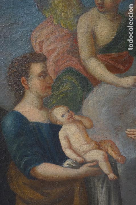 Arte: ramon bayeu (Zaragoza 1746-Aranjuez 1793) fiesta de la primavera, pintura al óleo. 93x84cm - Foto 4 - 104351511