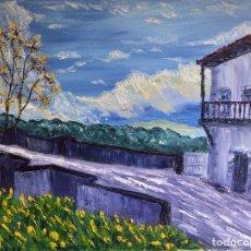 Arte: VENTANA SOBRE EL PUENTE.. Lote 104370811