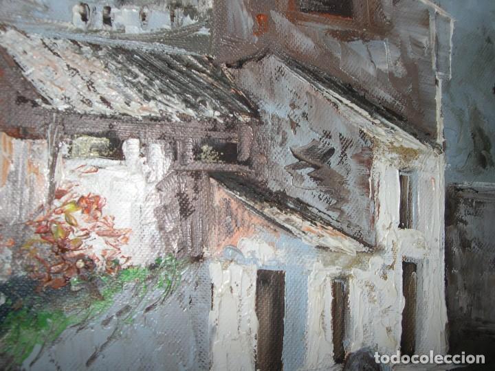 Oleo casas de pueblo comprar pintura al leo - Casas viejas al oleo ...