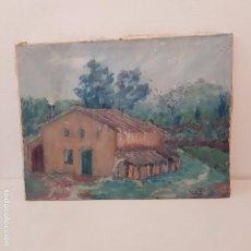 Arte: OLEO CASA CAMPO - FIRMADO 1969. Lote 104538411