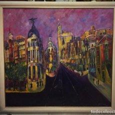 Kunst - vista de la gran via, carmen mateo - 104584151