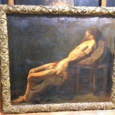 Arte: M.GONZALVO 1892 OLEO SOBRE LIENZO. Lote 104713490