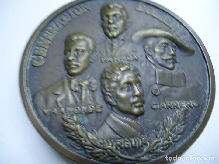 Arte: MEDALLA GENERACIÓN DOLIENTE VAAMONDE-MURGUIA-PARADA-CARRERO 1977 - Foto 2 - 104807899