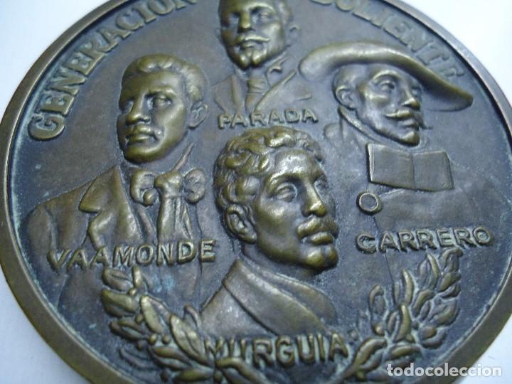 Arte: MEDALLA GENERACIÓN DOLIENTE VAAMONDE-MURGUIA-PARADA-CARRERO 1977 - Foto 3 - 104807899