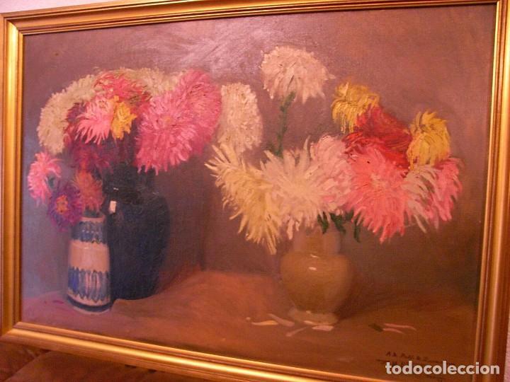 Arte: M.BENET, FLORES Y CERAMICA, 1917, CON DEDICATORIA - Foto 4 - 104822343