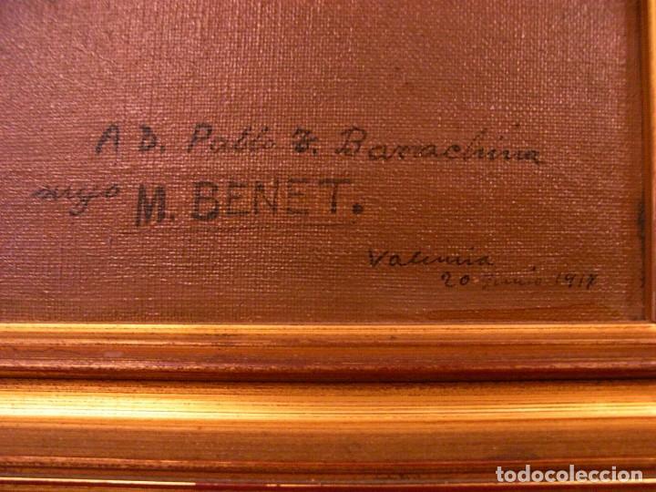 Arte: M.BENET, FLORES Y CERAMICA, 1917, CON DEDICATORIA - Foto 5 - 104822343