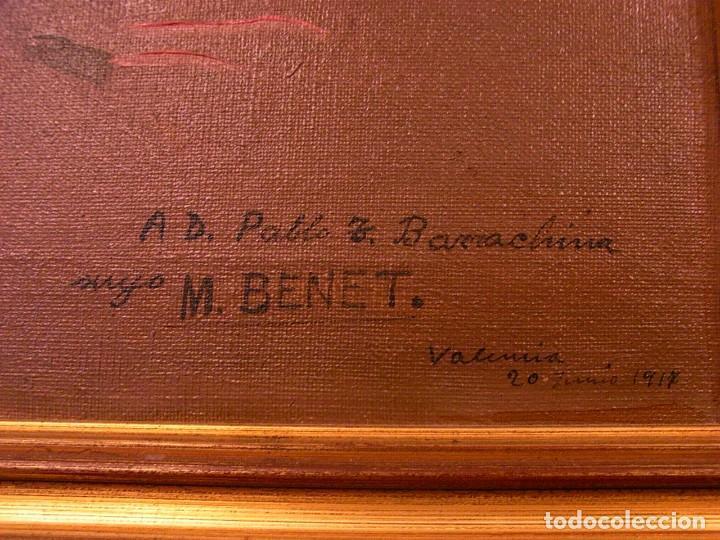 Arte: M.BENET, FLORES Y CERAMICA, 1917, CON DEDICATORIA - Foto 6 - 104822343