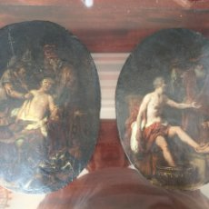 Arte: PAREJA DE CUADROS ITALIANOS ANTIGUOS S.XVIII. Lote 104855252
