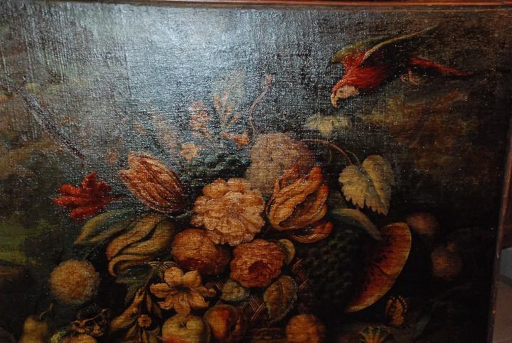 Arte: MUY BONITO BODEGÓN PINTURA AL ÓLEO SOBRE LIENZO SIGLO XVIII - Foto 3 - 115087258