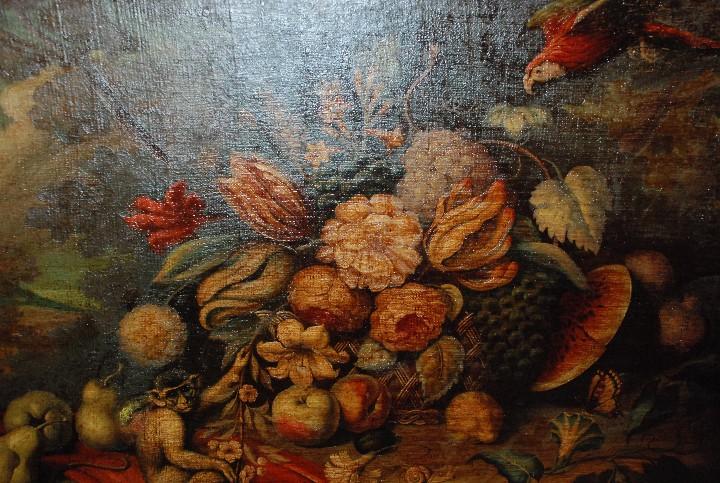 Arte: MUY BONITO BODEGÓN PINTURA AL ÓLEO SOBRE LIENZO SIGLO XVIII - Foto 4 - 115087258