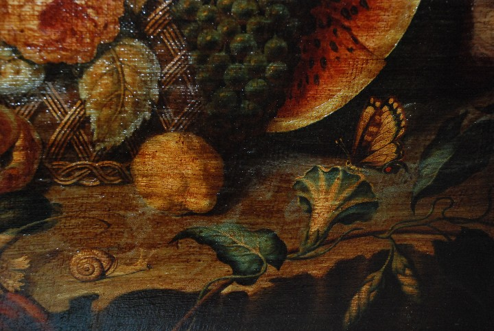 Arte: MUY BONITO BODEGÓN PINTURA AL ÓLEO SOBRE LIENZO SIGLO XVIII - Foto 11 - 115087258