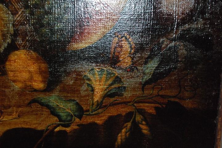 Arte: MUY BONITO BODEGÓN PINTURA AL ÓLEO SOBRE LIENZO SIGLO XVIII - Foto 14 - 115087258