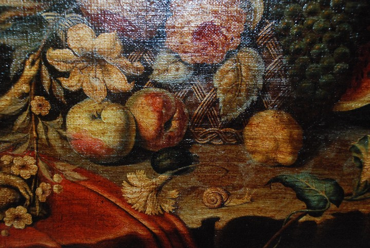 Arte: MUY BONITO BODEGÓN PINTURA AL ÓLEO SOBRE LIENZO SIGLO XVIII - Foto 15 - 115087258
