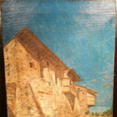 Kunst - ESCUELA VALENCIANA DE 1880 FIRMADA ILEGIBLE - 104898431