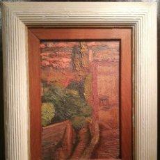 Arte: VISTA URBANA POR NICOLAU RAURICH (1871-1945). Lote 104898819