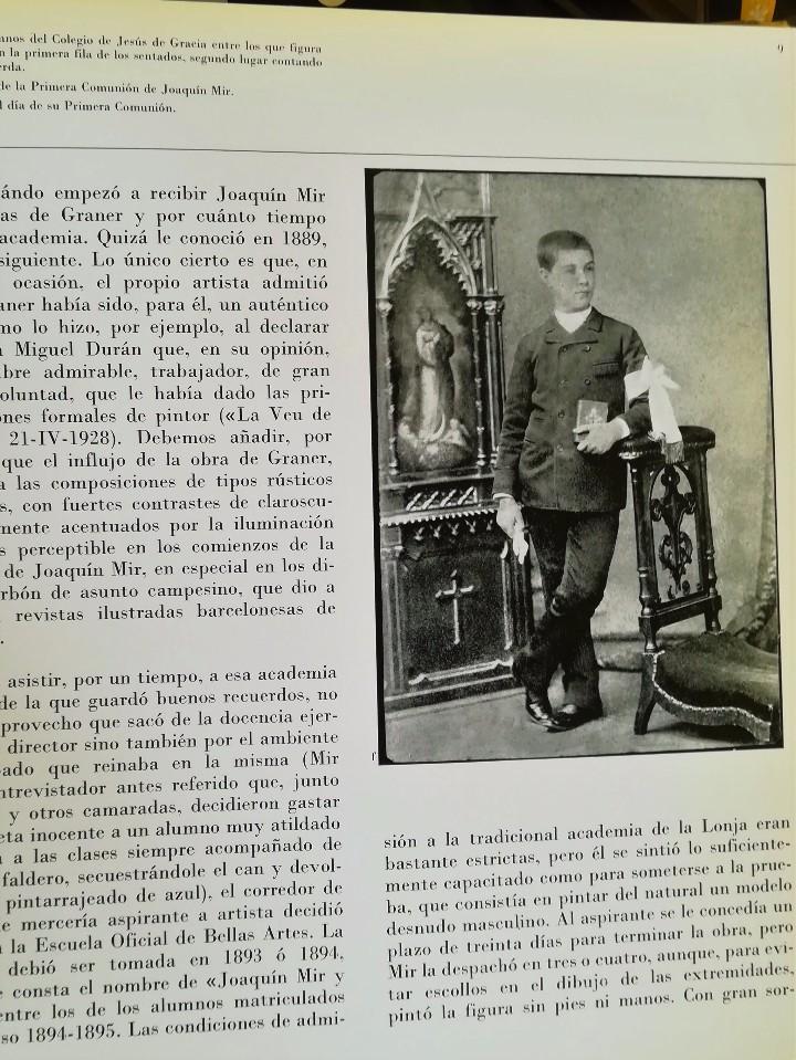 Arte: FOTOGRAFIA ORIGINAL DEL PINTOR JOAQUIN-JOAQUIM MIR,EL DIA DE SU COMUNION,1886,PUBLICADA,PINTURA. - Foto 6 - 57324339