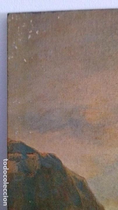 Arte: Serie de 4 cuadros reproduccion pinturas goya. Gran tamaño - Foto 3 - 105086239