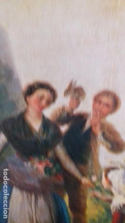 Arte: Serie de 4 cuadros reproduccion pinturas goya. Gran tamaño - Foto 6 - 105086239