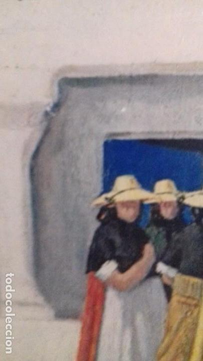 Arte: Serie de 4 cuadros reproduccion pinturas goya. Gran tamaño - Foto 12 - 105086239