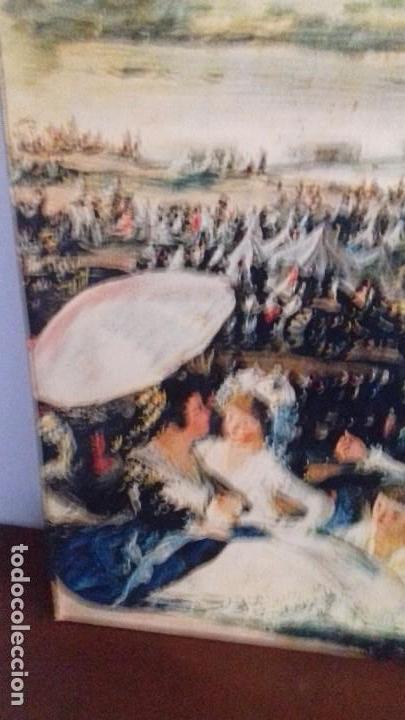 Arte: Serie de 4 cuadros reproduccion pinturas goya. Gran tamaño - Foto 19 - 105086239