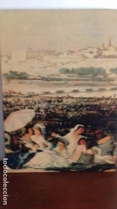 SERIE DE 4 CUADROS REPRODUCCION PINTURAS GOYA. GRAN TAMAÑO (Arte - Pintura - Pintura al Óleo Moderna sin fecha definida)