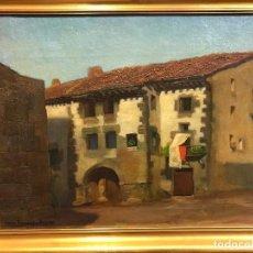 Arte: CASONA CANTABRA, FIRMADA CESAR FERNANDEZ ARDAVIN. Lote 105119999