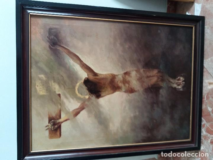 CUADRO ANTIGUO PINTADO (Arte - Pintura - Pintura al Óleo Contemporánea )