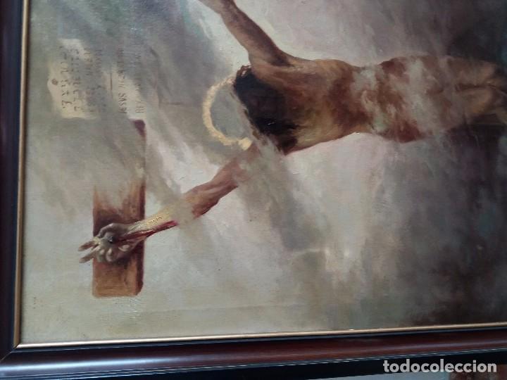 Arte: cuadro antiguo pintado - Foto 2 - 105326139