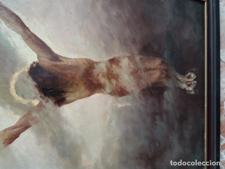 Arte: cuadro antiguo pintado - Foto 3 - 105326139